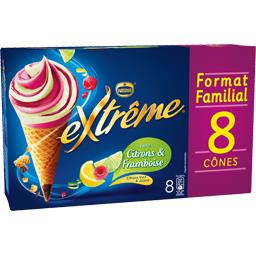 Nestlé Nestlé Extrême - Sorbets citrons framboise
