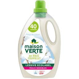 Lessive liquide hypoallergénique savon de Marseille