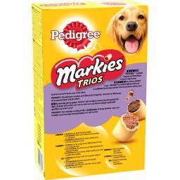 Markies - Biscuits Trios 3 variétés pour chiens