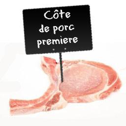 Côte de PORC PREMIERE