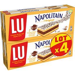 LU LU Napolitain - Gâteaux Classic fourrage chocolat