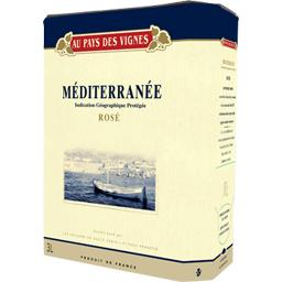 Méditerrannée, vin rosé
