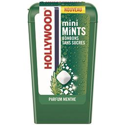 Hollywood Hollywood Bonbons Mini Mints sans sucres parfum menthe la boite de 12,5 g