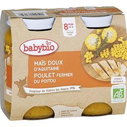 Menu du Jour - Maïs doux & poulet fermier du Poitou ...