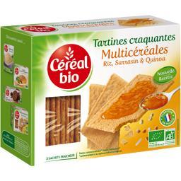 Céréal Bio Céréal Bio Tartines craquantes Multicéréales BIO la boite de 145 g