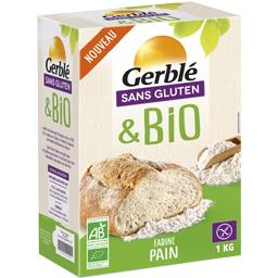 Sans Gluten & BIO - Farine pain BIO