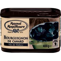 Raynal & Roquelaure Raynal et Roquelaure Bourguignon de canard vin de Cahors la boite de 400 g