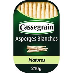 Cassegrain Cassegrain Asperges blanches la boite de 130 g net égoutté
