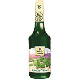Moulin de Valdonne Moulin de Valdonne Sirop de menthe verte la bouteille de 70 cl