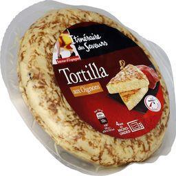 Tortilla aux oignons, saveur d'Espagne