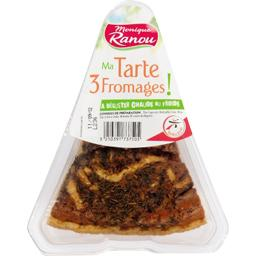 Tarte 3 fromages pur beurre