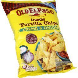 Crunchy Tortilla Chips crema & ognon