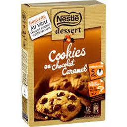 Dessert - Cookies au chocolat caramel