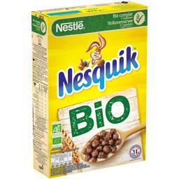 Nestlé Nestlé Céréales Nesquik - Céréales au chocolat BIO la boite de 375 g