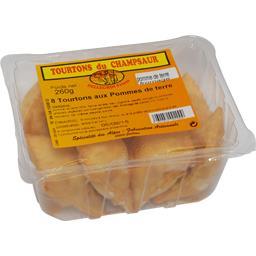 Tourtons pomme de terre fromage