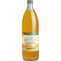 Cidre traditionnel brut non pasteurisé