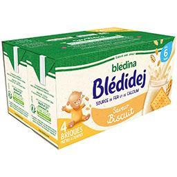 Blédidej - Céréales au lait de suite saveur biscuité...