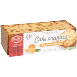 Cake oranges aux écorces d'oranges