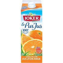 Jus d'orange sans pulpe - Le Pur Jus