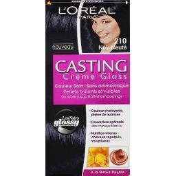 Casting - Crème Gloss couleur soin Noir bleuté 210