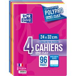 Oxford Cahiers openflex agrafe 24x32 96 pages