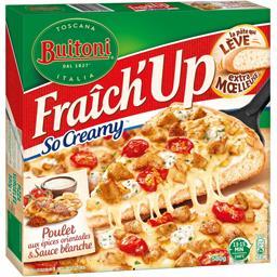 Fraîch'Up - Pizza So Creamy poulet aux épices orientales & sauce blanche