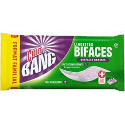 Cillit Bang Cillit Bang Lingettes bifaces surfaces grasses le paquet de 54 - Format Familial