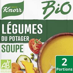 Knorr Knorr Soupe BIO déshydratée légumes du potager le sachet de 49g