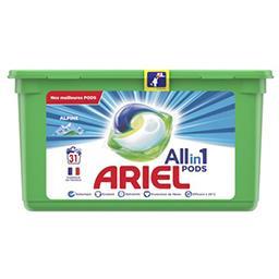 Ariel Ariel Lessive en capsules allin1 pods alpine La boîte de 31 lavages