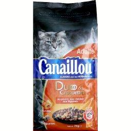 Croquettes poulet/bœuf/carottes/légumes verts pour chats