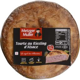 Tourte au Riesling d'Alsace