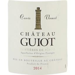 Château guiot vermeil, vin rouge