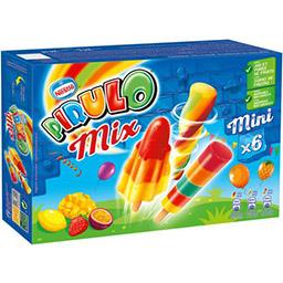 Pirulo Pirulo Glace à l'eau Mix la boite de 6 - 300 g