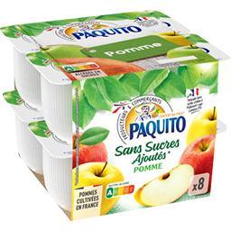 Purée de fruits pomme sans sucres ajoutés
