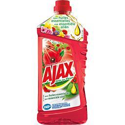 Ajax Ajax Fête des Fleurs - Nettoyant ménager Champs de Coquelicots le flacon de 1,25 l