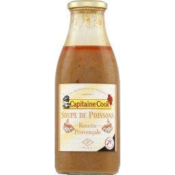 Soupe de poissons à la provençale,CAPITAINE COOK,