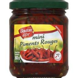 Mini piments rouges au vinaigre