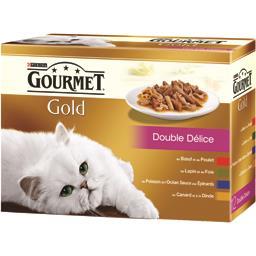 Gold - Double Délice pour chats
