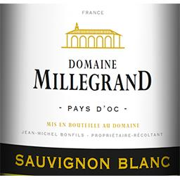 d'Oc Dne Millegrand Sauvignon vin Blanc sec 2017