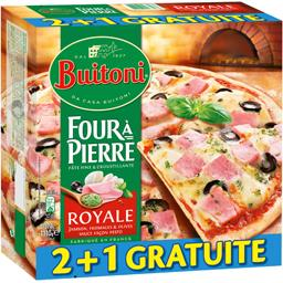 Four à Pierre - Pizzas Royale