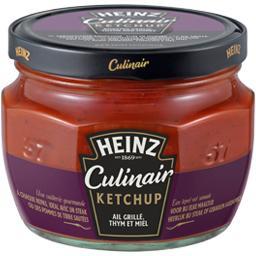 Culinair - Ketchup ail grillé thym et miel
