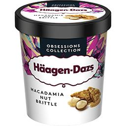 Häagen-Dazs Haagen-Dazs Obsessions Collection - Crème glacée vanille macadamia le pot de 460 ml