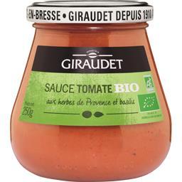 Giraudet Giraudet Sauce tomate BIO le pot de 250 g