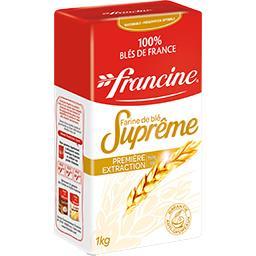 Francine Farine de blé Suprême Première extraction type 45