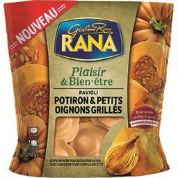 Bien-être Rana Plaisir & Bien-être - Ravioli potiron petits oignons grillés le sachet de 250 g