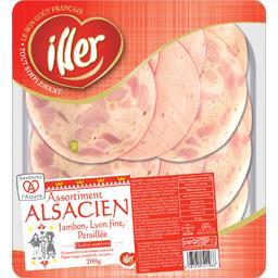 Assortiment alsacien jambon/Lyon fine/persillé