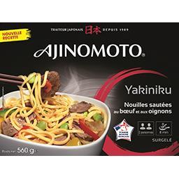Ajinomoto Nouilles sautées au bœuf et aux oignons
