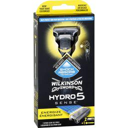 Wilkinson Hydro 5 Sense - Rasoir pour homme énergisant