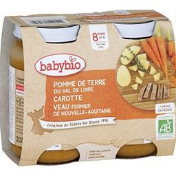 Menu du Jour - Pomme de terre, carotte veau fermier ...