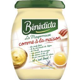 Bénédicta Bénédicta La Mayonnaise 'comme à la maison' le pot de 255 g